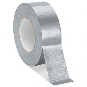 Ducttape breedte 50 mm kleur grijs